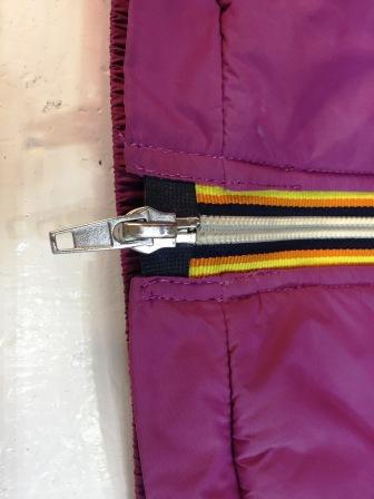 Riparazione parte finale zip giacca | Riparazioni Chiusure
